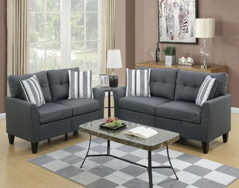 SOFA AND LOVESEAT SET F6534