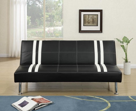 F6821 BLACK AND WHITE FUTON