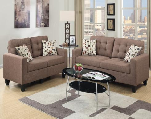 SOFA AND LOVESEAT SET F6903