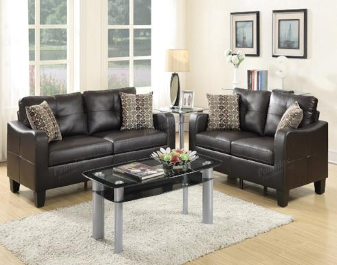 SOFA AND LOVESEAT SET F6921