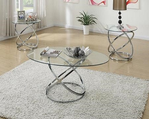 Laura 3 Pc. Coffee Table Set #F3087 PDX