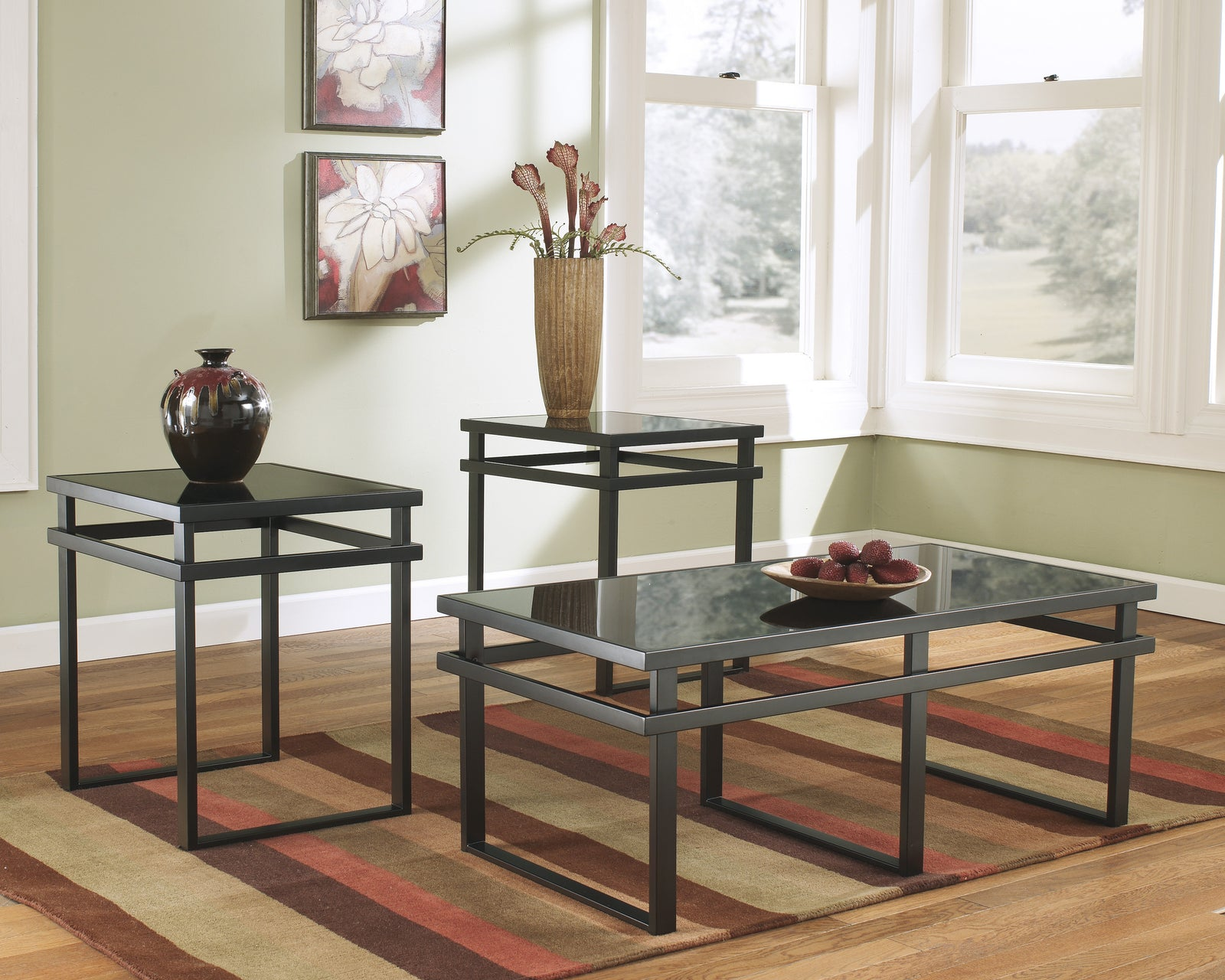 Laney 3pc. Coffee Table Set #T180 ASH