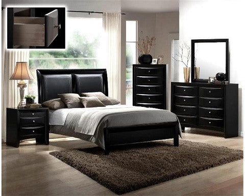 (B4280) CROWN MARK EMILY BEDROOM SET