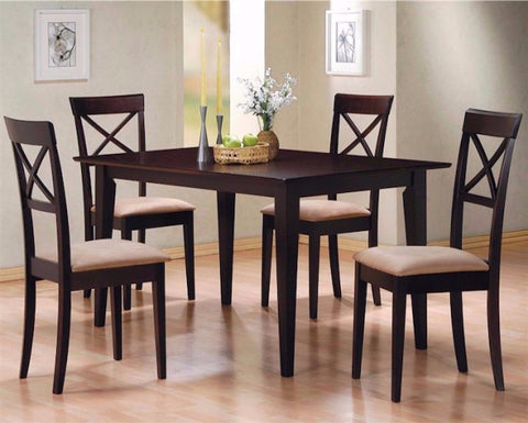 COASTER 100771 DINING SET