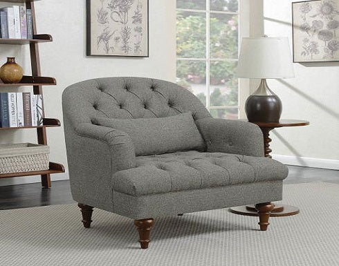 Dark Grey accent chair Coa 904092