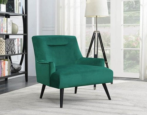 Green Accent Chair Coa 904100