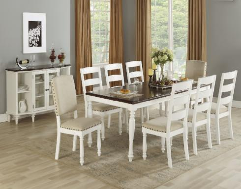 POUNDEX F2468 9PC DINING SET