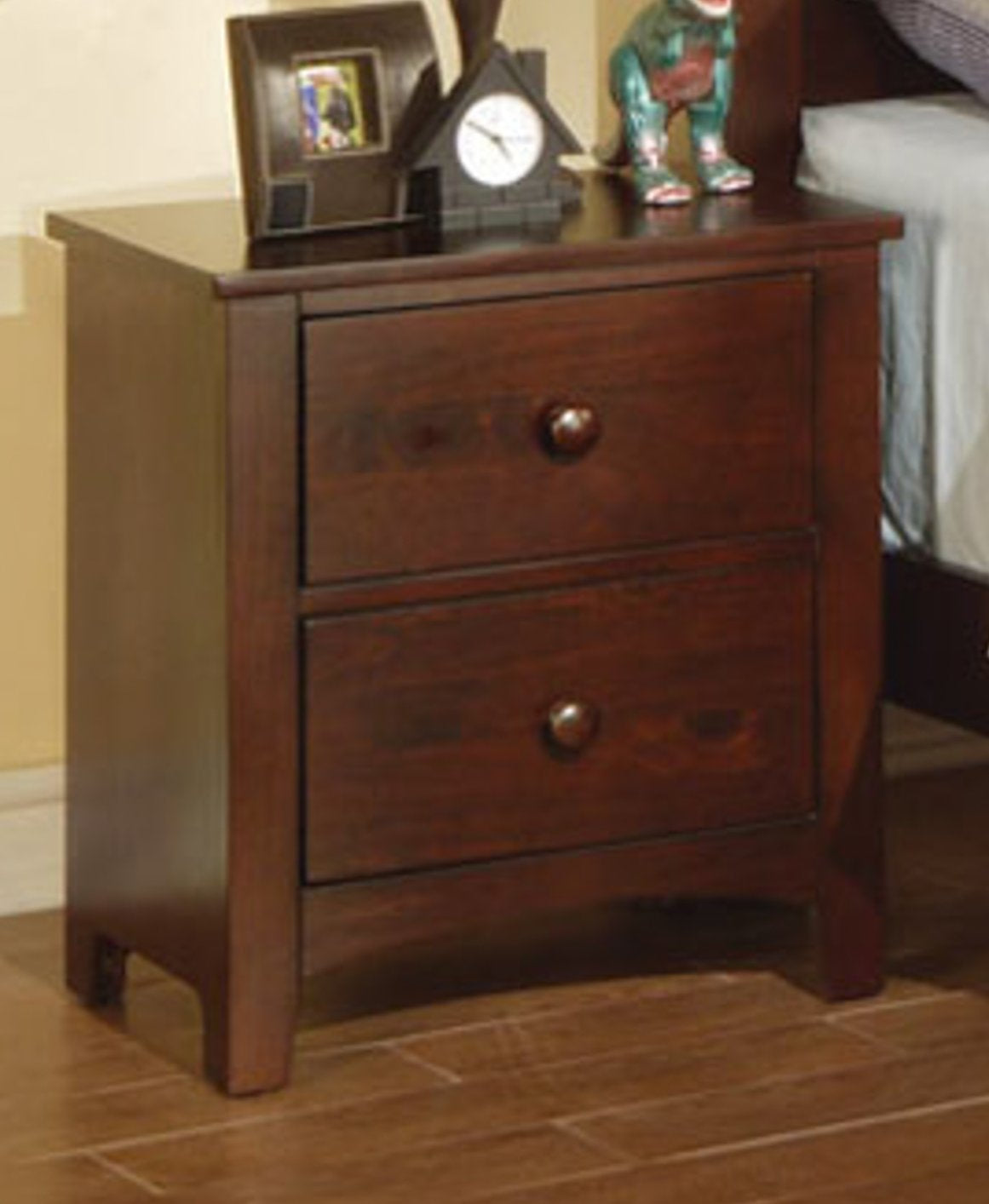 F4234 Dark Cherry Nightstand