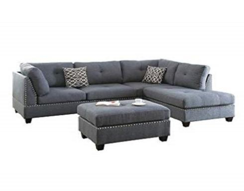 F6975 Sectional with Ottoman
