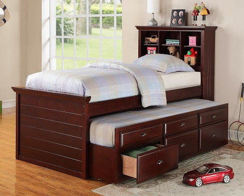 (F9220) TWIN TRUNDLE BED