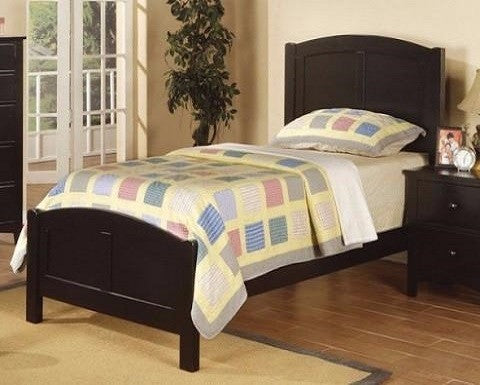 POUNDEX BRAXTON TWIN SIZE PANEL BED F9208