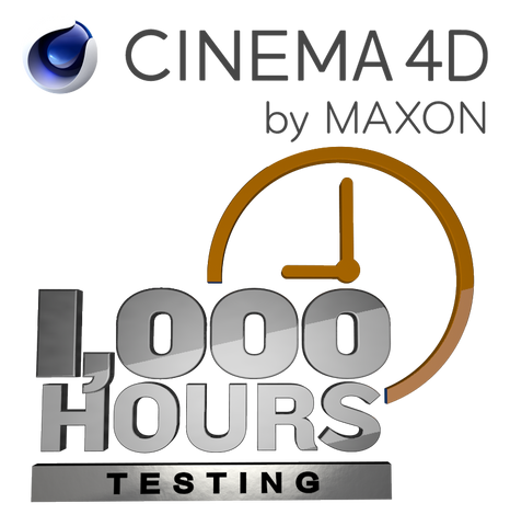 Cinema 4D - 1,000 Hours at 18¢/hour