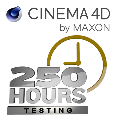 Cinema 4D - 250 Hours at 18¢/hour