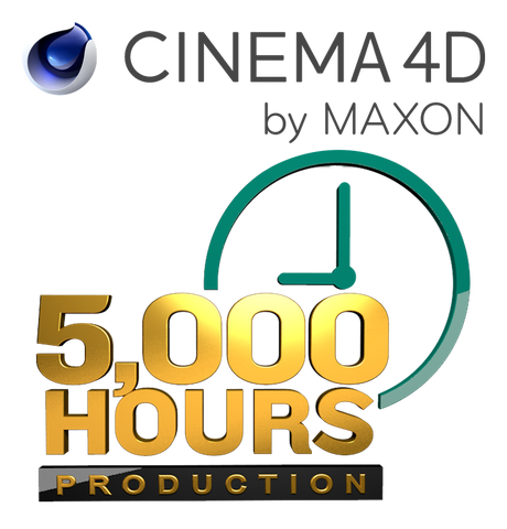 Cinema 4D - 5,000 Hours at 18¢/hour