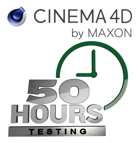 Cinema 4D - 50 Hours at 18¢/hour