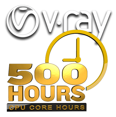 V-Ray Render - 500 PER-CORE Hours at 2.4¢/hour
