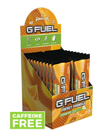 G FUEL Box - Orange (Caffeine-Free)
