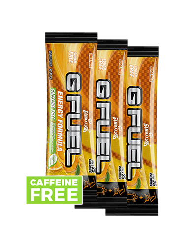 G FUEL 3 Pack - Orange (Caffeine-Free)
