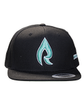 Snapback Hat - Tropical Rain Logo