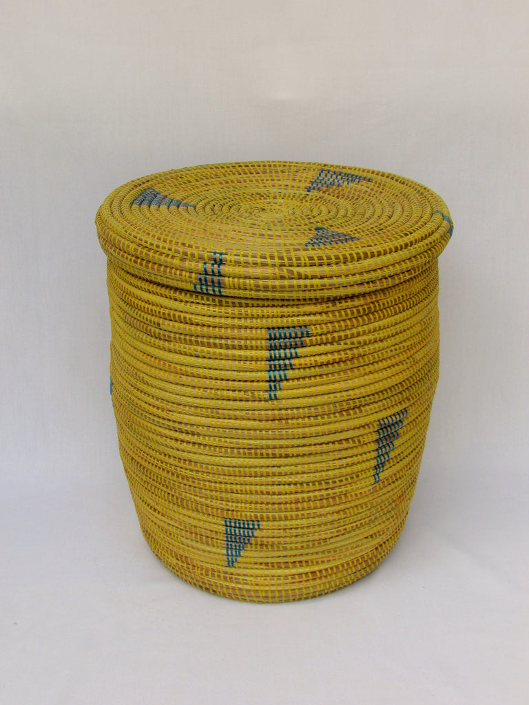 Handwoven African Basket - Small
