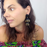 Bonita Earrings - Black