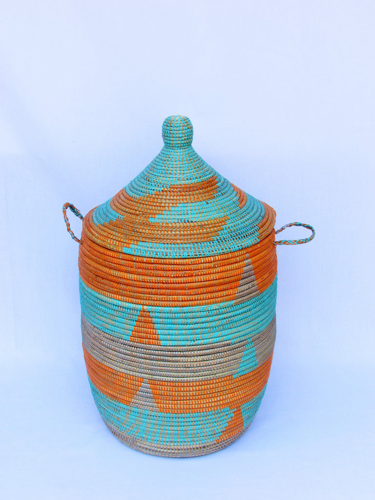 Handwoven Medium African Hamper