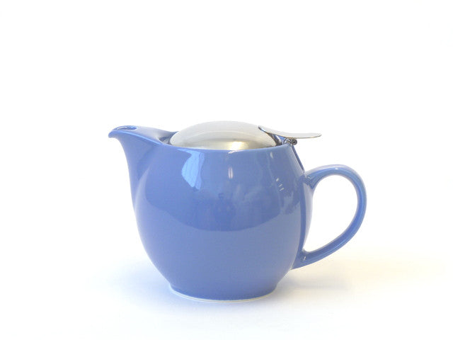 Round Blueberry Teapot