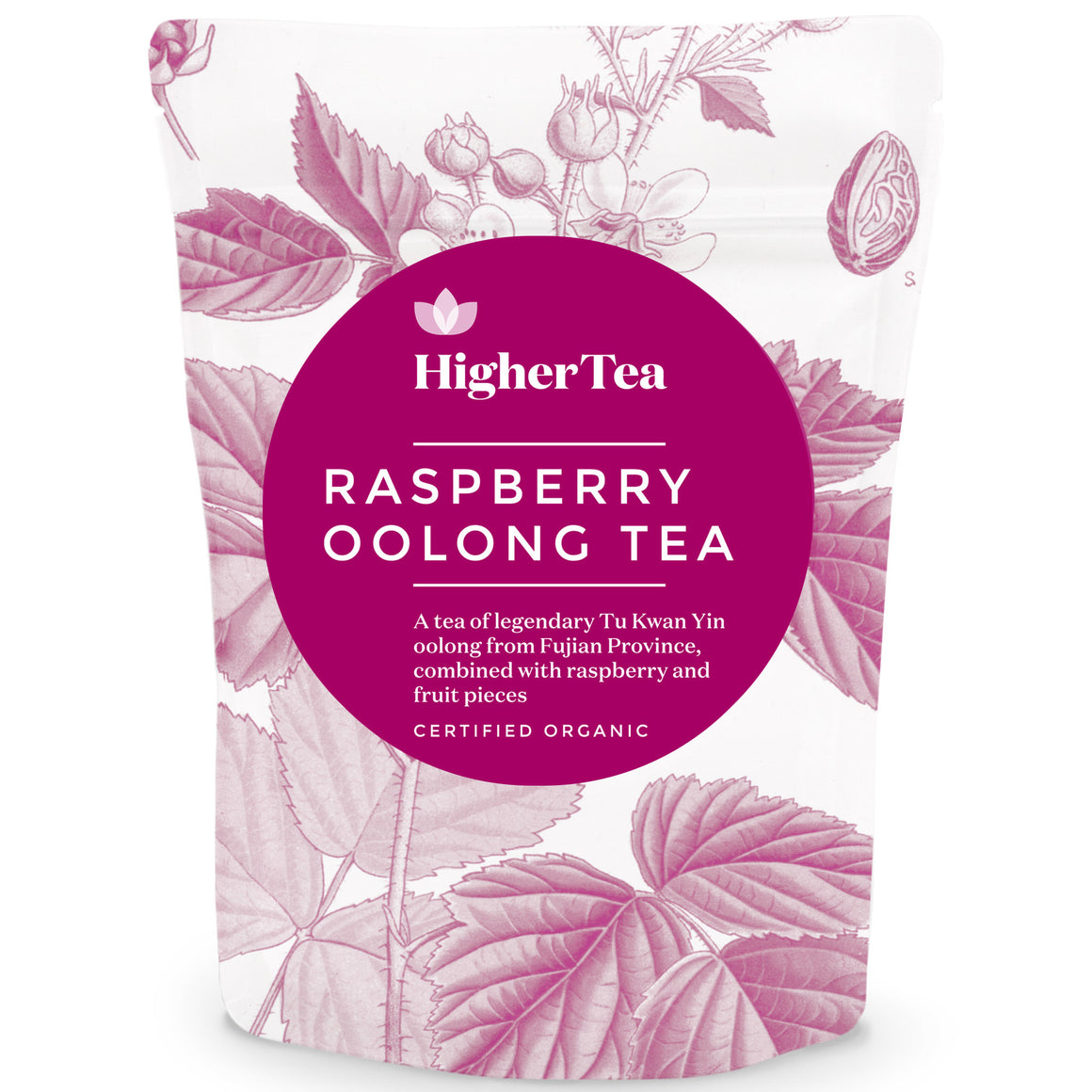 Raspberry Oolong Tea