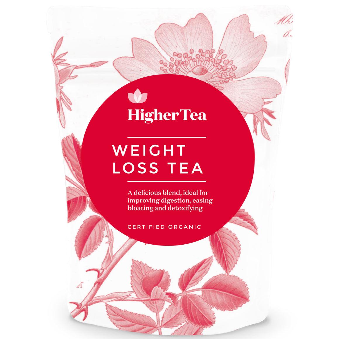 14 Day Body Teatox Weight Loss Tea By Higher Tea, 100% Organic Natural Herbal Body Detox and Gentle Cleanse Formula