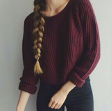 Fashion Sleeveless  Top Sweater Pullover
