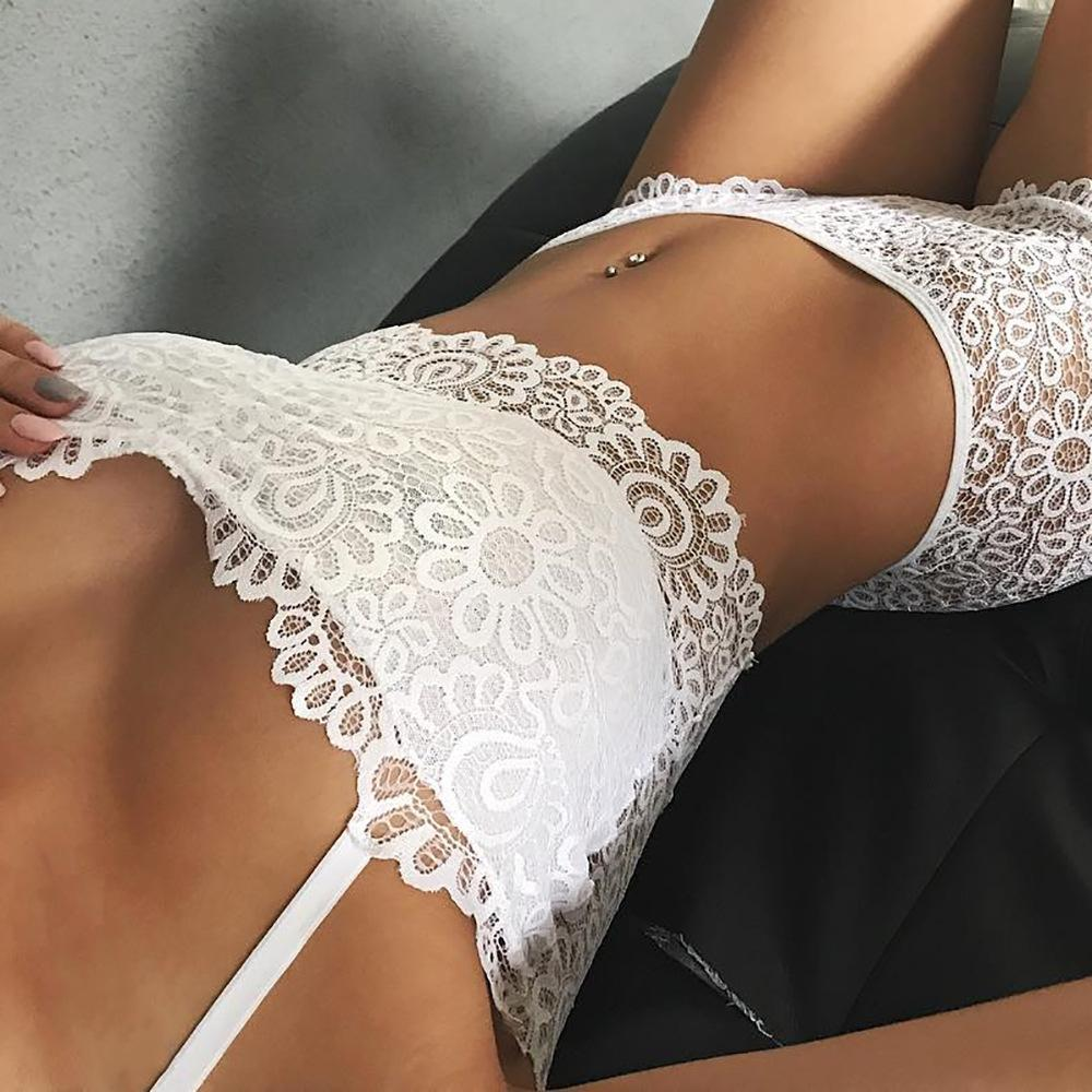 Strap Lace Fashion Underwear Lingerie Set