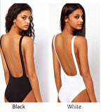 Backless One Piece Swimwear Bikini Swimsuit
