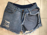 Hole Ripped Fashion Denim Shorts