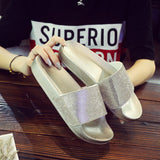 Diamonds Women Fashion Sandals Slipper Shoes