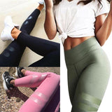 Fashion Mesh Gym Yoga Tight Sports Pants Trousers