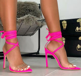 Hot Style Is A Hot Seller Of Cross-strap High-heeled Sandals Shoes