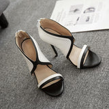 Fashion Women Peep Toe Sandals High Heels Shoes
