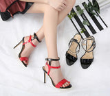 Hollow Peep Toe Women Fashion Sandals Stiletto High Heels Shoes