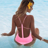 one piece swimsuit women Monokini  swimwear Backless Sexy Swimsuits Female bathing suit Beachwear