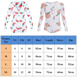 Women Hot Deep V Neck Long Sleeve Bodycon Playsuit Peach Print Button Slim Clubwear Cropped Jumpsuit Short Pants Party Romper