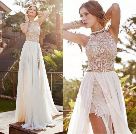 Fashion Chiffon Lace  Dress