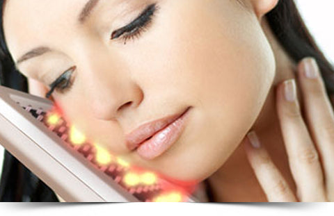 European Deep Pore Facial with LED light therapy