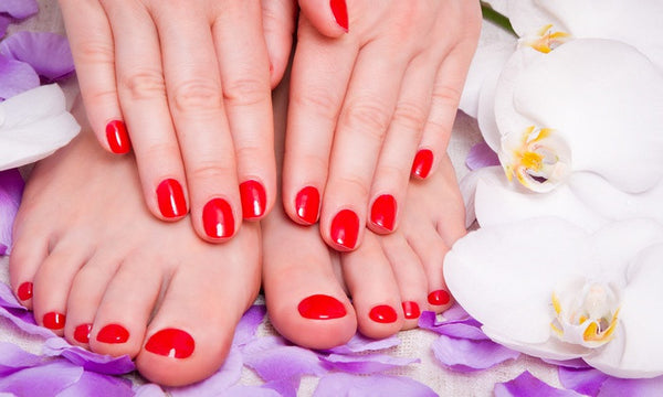Lavender Spa Manicure and Pedicure - Laura's Beauty Touch, Spa Services in Rego Park, New York 11374