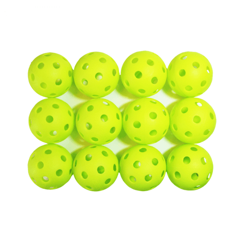 Indoor Pickleballs - 12 pack