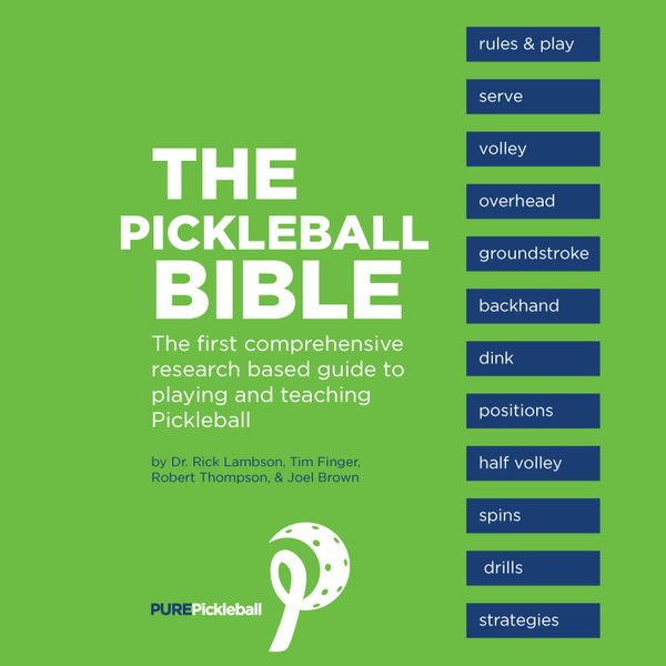 Pickleball Bible (soft cover with dvd)