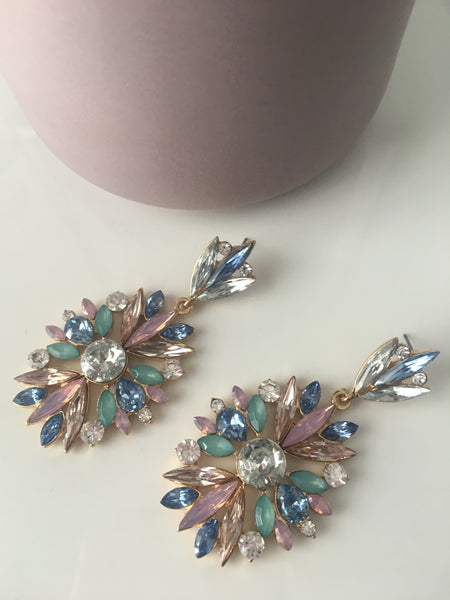 Jewel Drop Earring