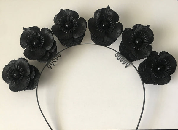 Flower Crown Black