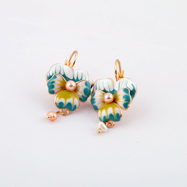 Emma Flower Earrings