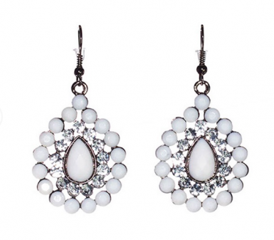 Diamante Drop Cocktail Hour Earrings