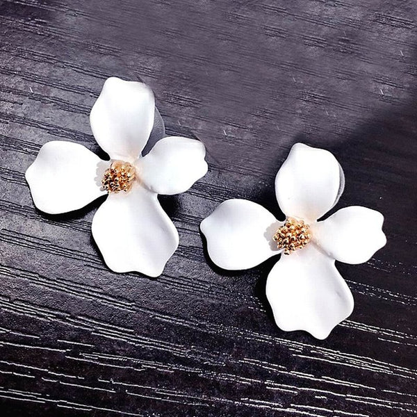 Lavish Flower Earrings